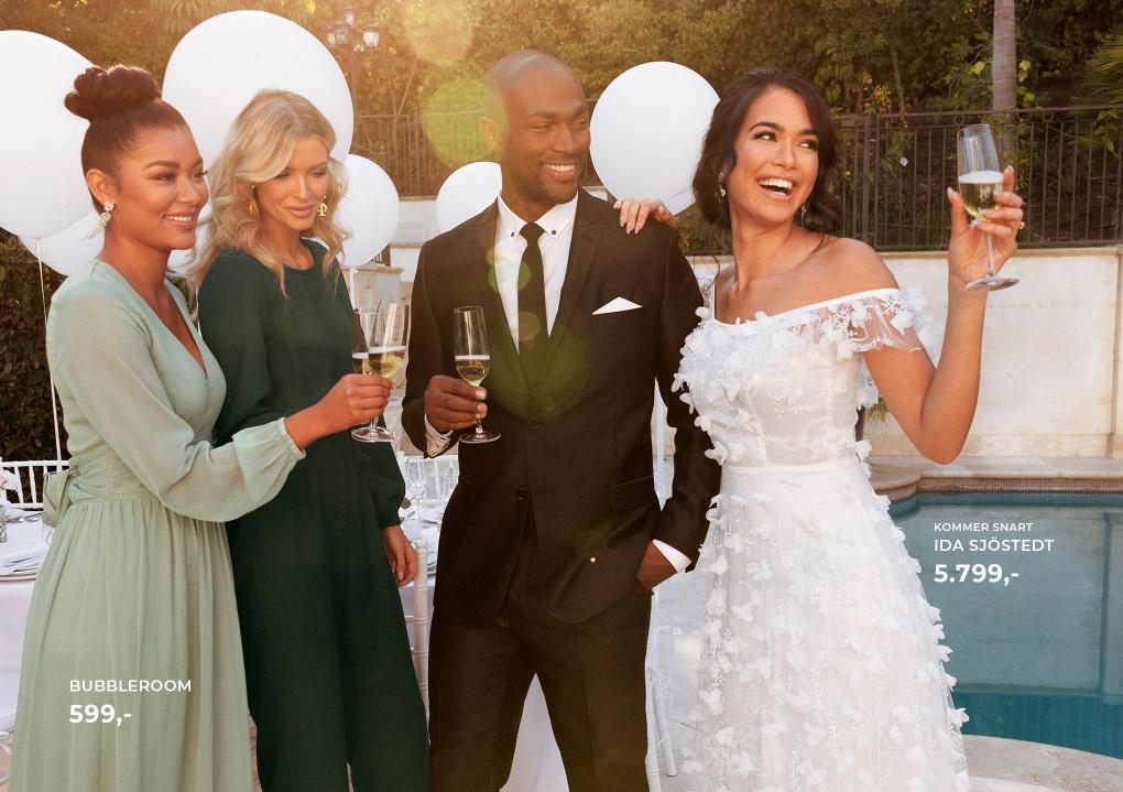 Brudekjoler med Smukke blondedetaljer