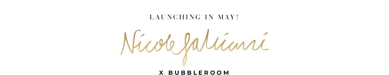 Nicole Falciani X Bubbleroom - kommer snart