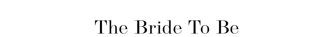 Bride to be - shop bryllupskjole din her