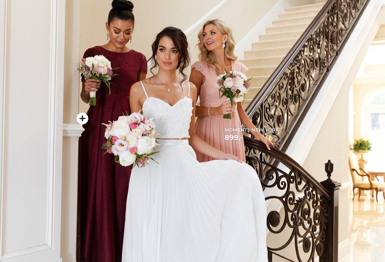 brudepigekjoler til bryllup