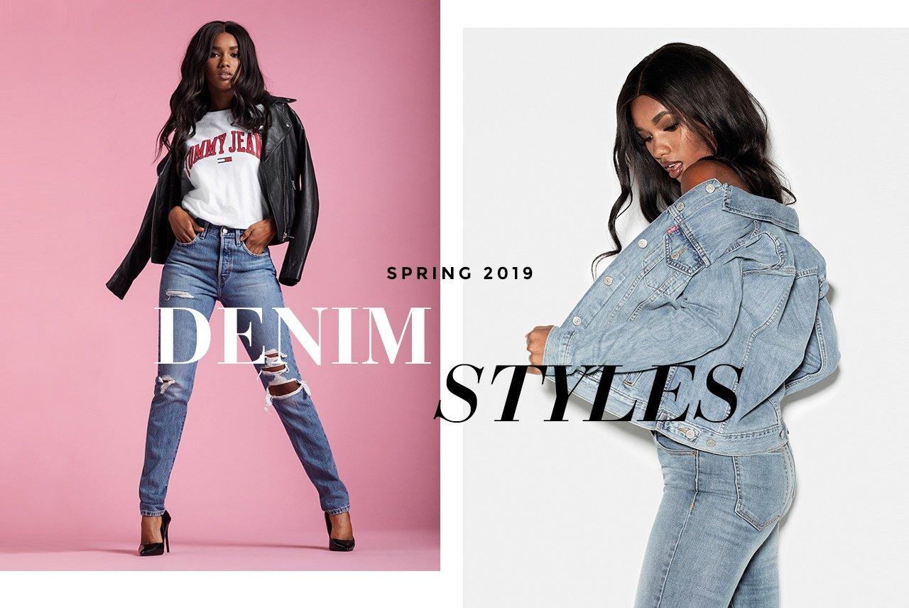 shop slidte jeans, cropped jeans, jeans med Høj midja her