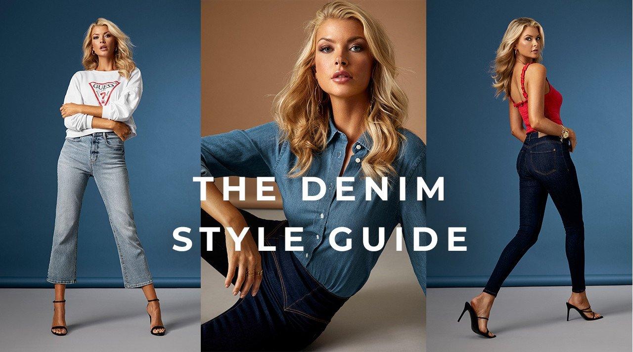 Straight leg jeans, cropped jeans, jeans med høj talje - shop jeans nyheder her