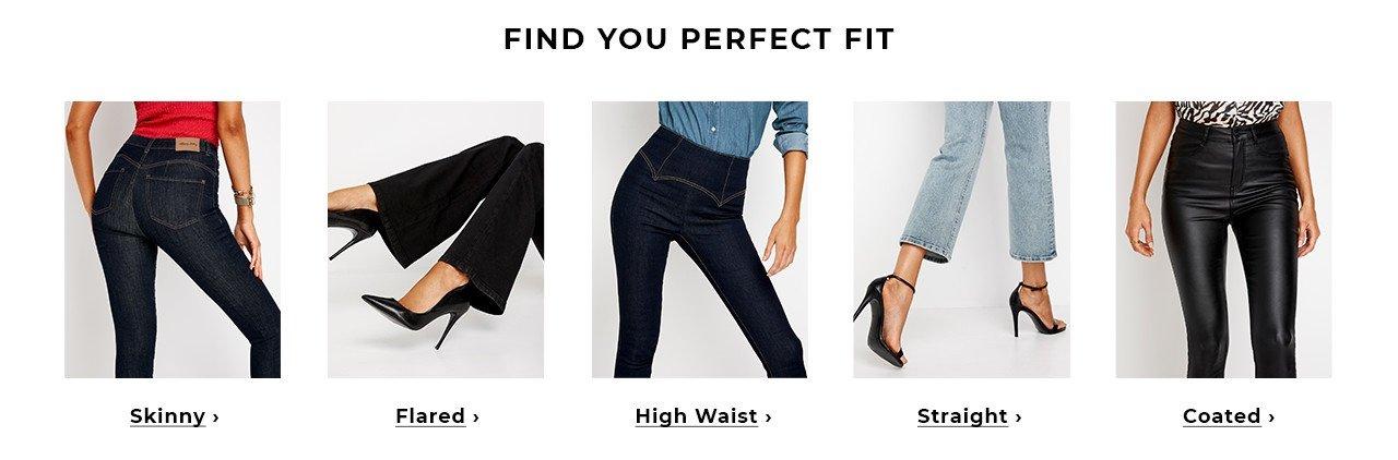 Skinny eller Straight leg? Find Jeans till din jeansgarderobe!