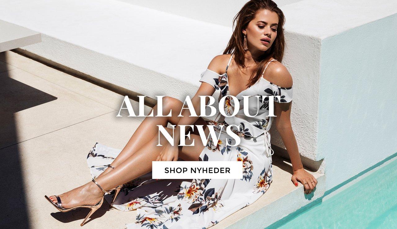 Nyheder - kjoler og topper