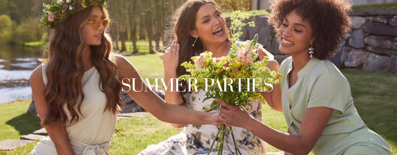 Summer parties - Shop her