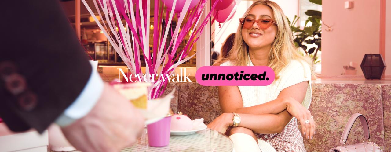 Never Walk Unnoticed - Hanna Friberg
