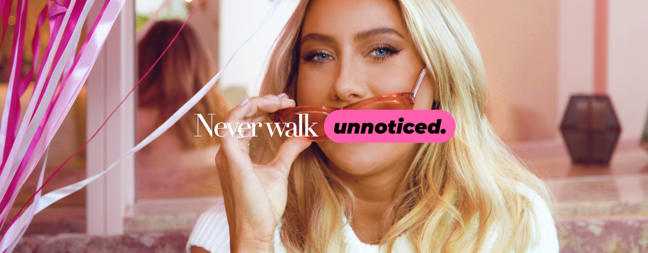 Never Walk Unnoticed - Shop Hannas favoriter her