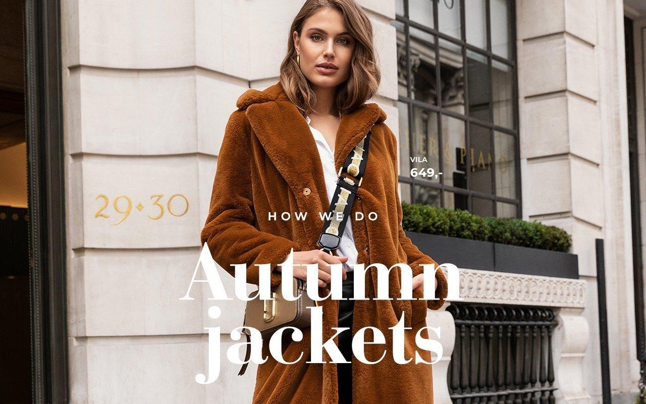 How we do Autumn Jackets