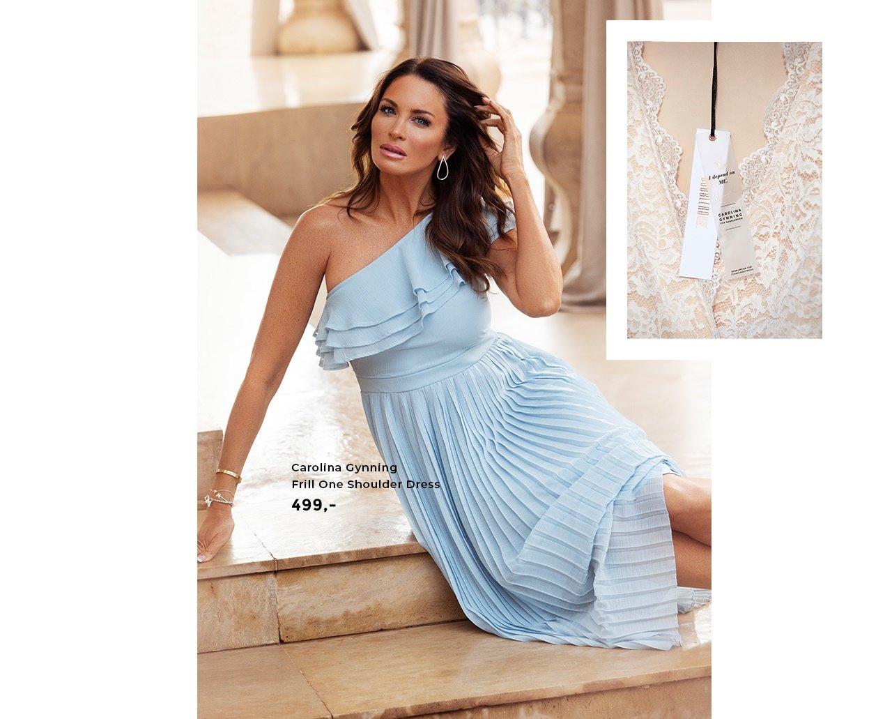 a6abf1c7e9f3 Carolina Gynning Frill One Shoulder Dress