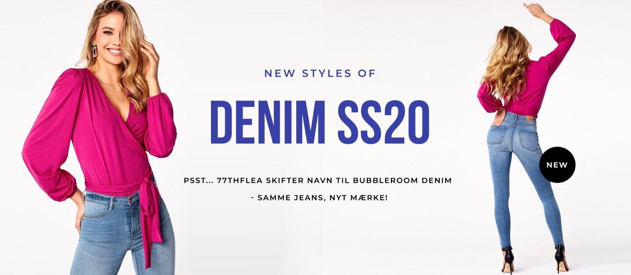 Samme jeans – NYT MÆRKE 77thFlea skifter navn til Bubbleroom Denim
