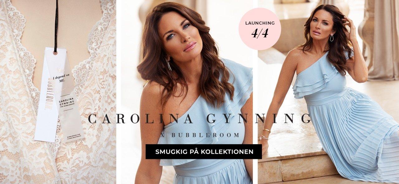 Carolina Gynning X Bubbleroom - Smugkik på kollektionen
