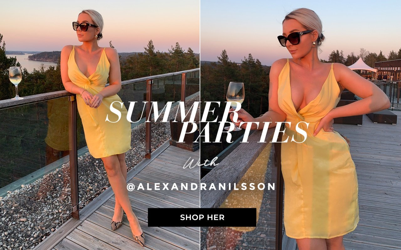 Summer parties with Alexandra Nilsson