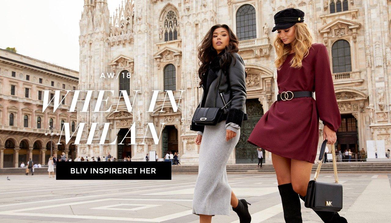 When in Milan - Shop Nyheder