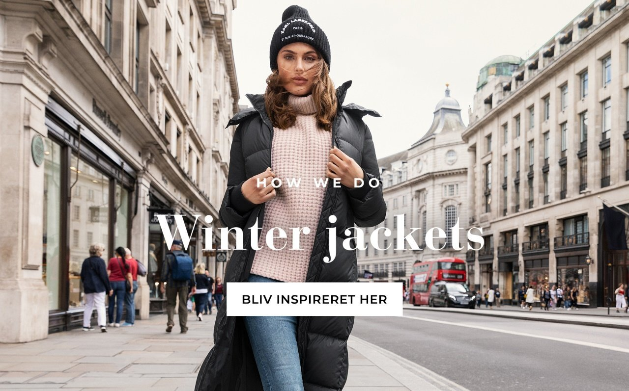 Shop vinterjakker fra Bubbleroom