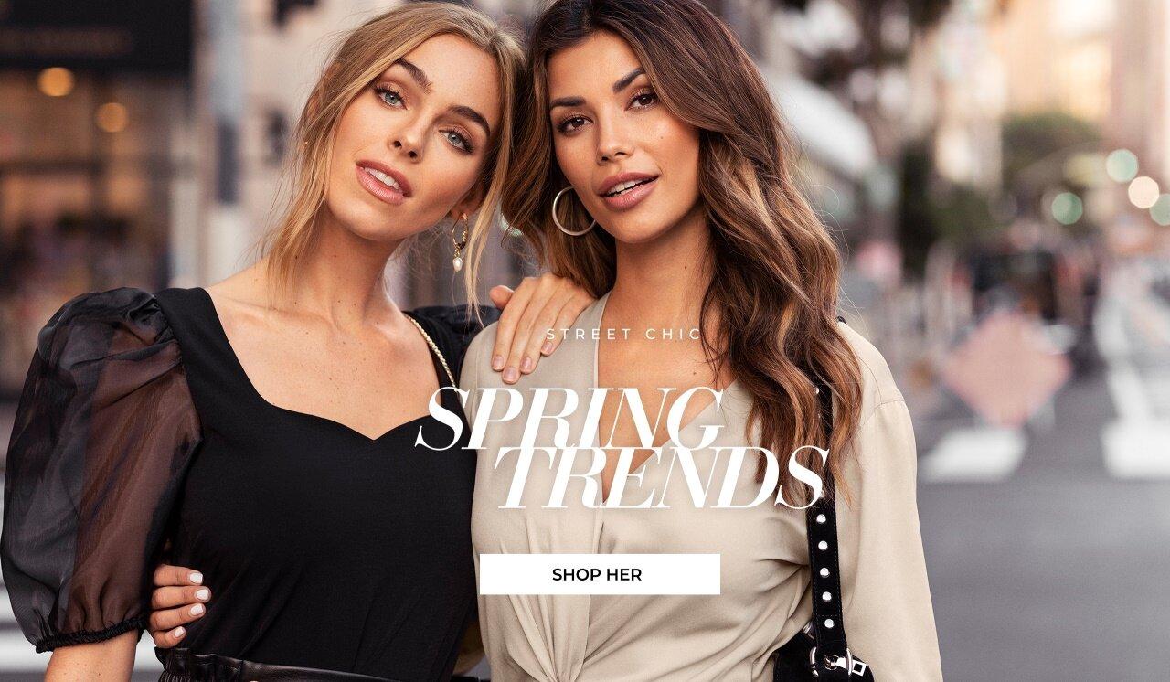 Shop Spring Trends fra Bubbleroom