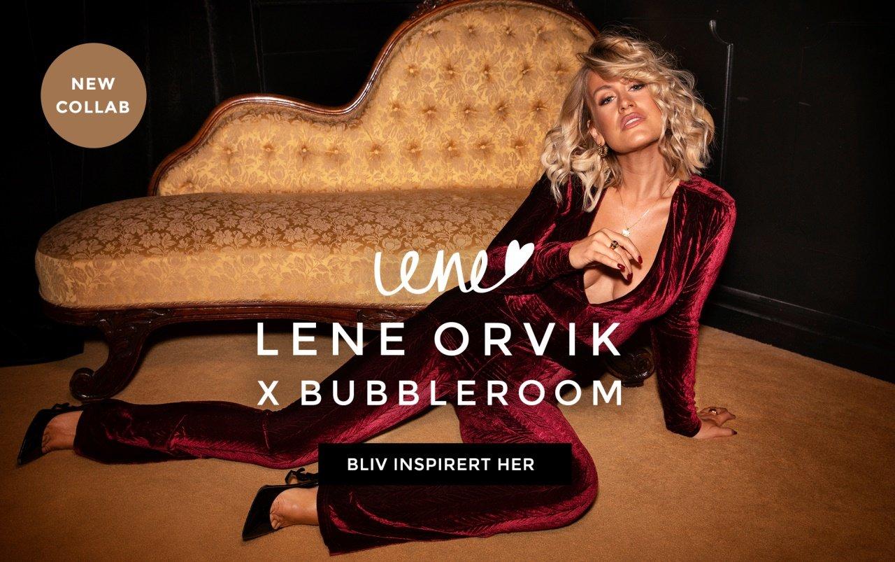 Lene Orviks pailletkjoler og fløjlsjumpsuits