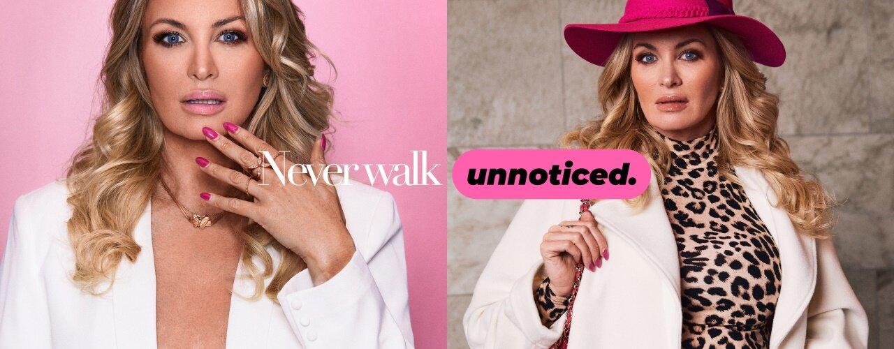 Never Walk Unnoticed - Shop Carolina Gynnings favoriter her