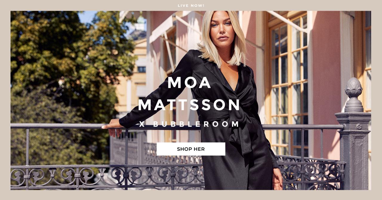 Moa Mattsson x Bubbleroom drop 2 - shop her
