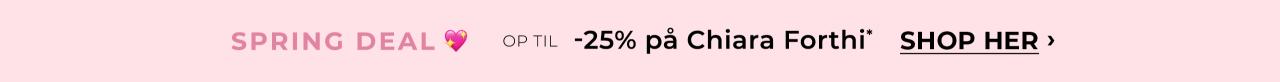 OP till -25% på Chiara Forthi. Shop her!