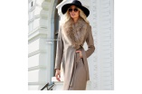Chiara Forthi - Amber long tie coat