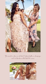 Grace Floral Gown - Moments New York
