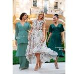 Astrid Frill Gown fra Moments New York og Scala dress fra Bubbleroom