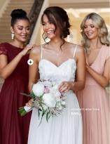 Elegant brudepigekjoler og brudekjoler fra Moments New York