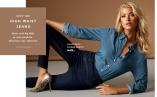High Waist Jeans - Jeansen med elastisk kvalitet med høj talje