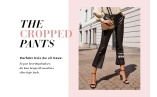 The cropped trouser