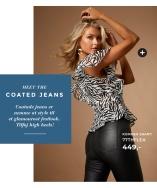 Nyheder! Bianca Coated Jeans fra 77thFlea