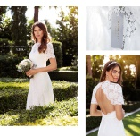 Magnolia wedding gown fra Moments New York