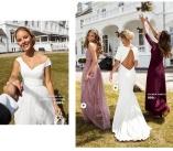 elegant blonde kjoler fra Chiara Forthi