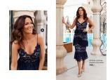 Carolina Gynning Flouncy Lace Dress