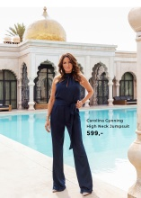 Carolina Gynning High Neck Jumpsuit