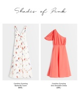 Shop off shoulder og on shoulder kjoler fra Carolina Gynning kollektionen