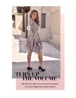 Turn up the volume. Når det handler om sommarens kjolen: Jo mere bølgende, desto bedre!