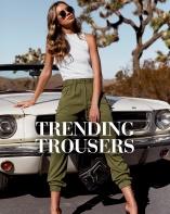 Shop trending trousers