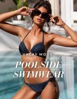 Poolside swimwear