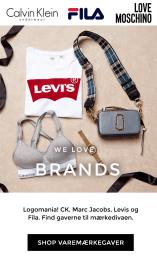Shop brands - FILA, D.brand, Levis, Marc Jacobs, Michael Kors, Calvin Klein, Dorina, PUMA