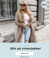 20% på vinterjakker - Shop her