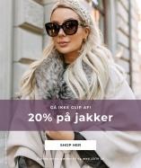 20% på jakker - Shop her
