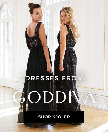 shop kjoler fra Goddiva