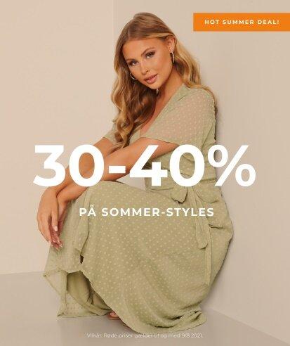 30-40% på sommer-styles - Shop her