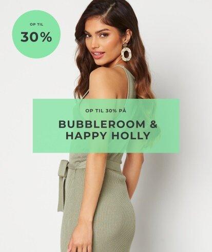 Op til 30% på Bubbleroom & Happy Holly - Shop her