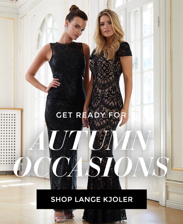 Shop lange kjoler