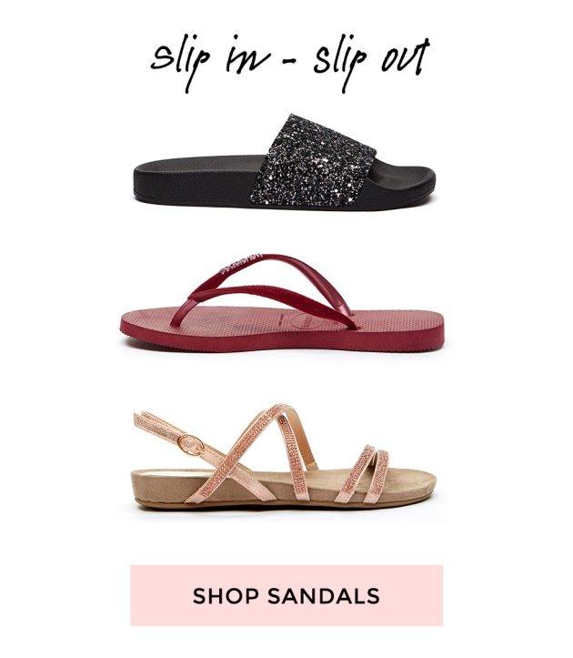 Shop sandaler