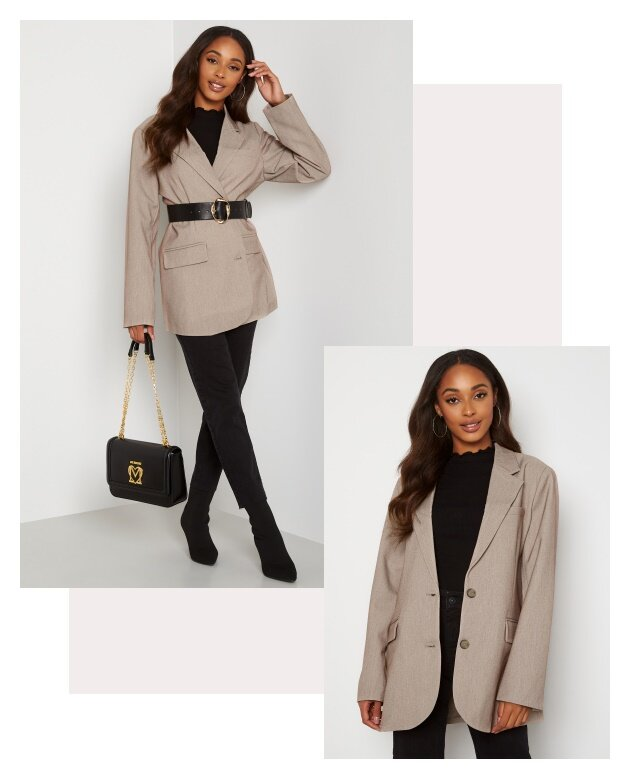 How to style the blazer - Shop her