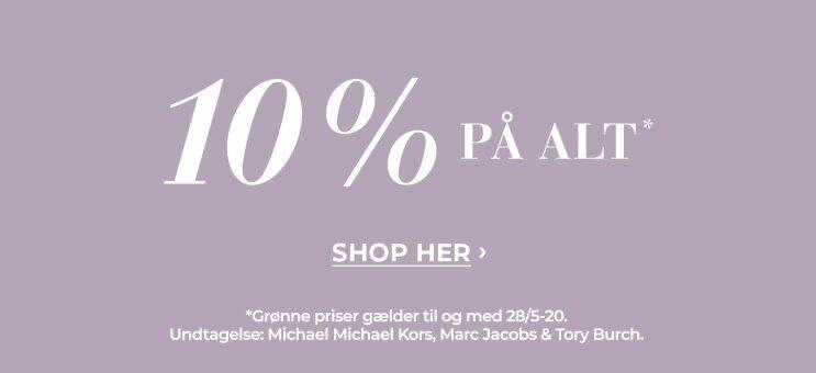 Shop 10% på alt her