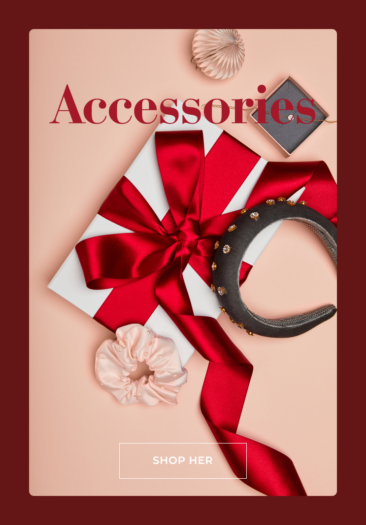 Accessories for christmas - Shop her