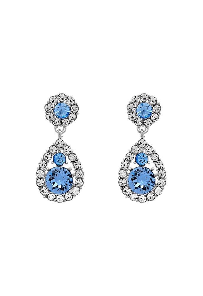 LILY AND ROSE Petite Sofia Earrings Light Sapphire ...